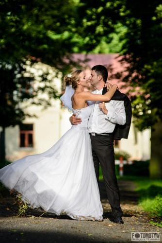 Dynamiczne zdjęcie ślubne - Chełm