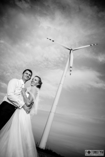 fotka plenerowa przy wiatraku