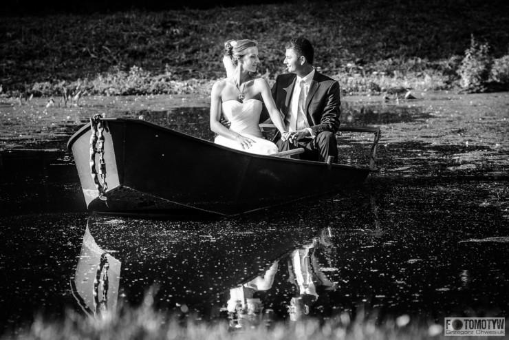 Zamość - sesja plenerowa nad wodą